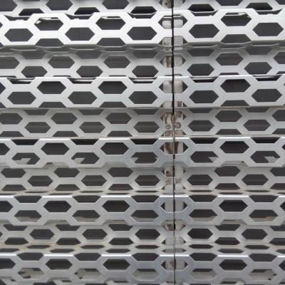 汽车4s店装饰外墙网铝网 消音降噪汽车厂冲孔网 喷塑奥迪专业外围墙 装饰墙穿孔网