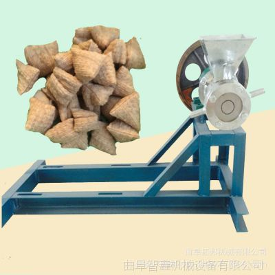 供应小麦面粉膨化香酥棒机 保教技术面粉膨化机 微型辣条机