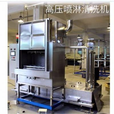 高压喷淋清洗机原理-高压喷淋清洗机- 田捷电力机械(查看)