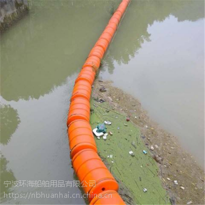 湿地修复拦污导漂屏湖面拦漂截污带