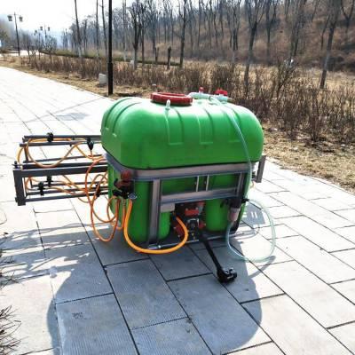 农用折叠喷杆打药机 小麦稻田去虫喷药机 自动卷管悬挂式打药机