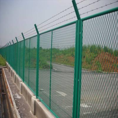 江北区菱形块护栏网-高速公路隔离栅价格-道路围栏网批发价格