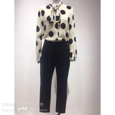 春夏新款纽方女装品牌精品原创设计衣叁唯品走份一手货源