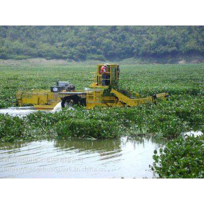 高效电动破碎船价钱 济南景区打捞水草机