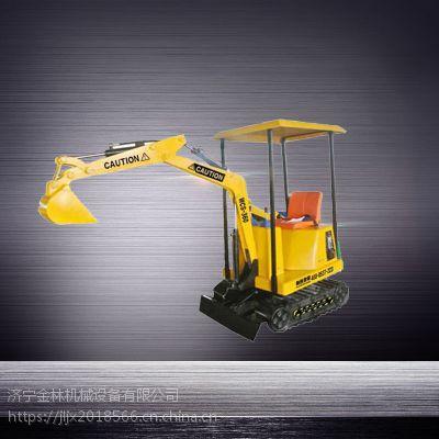尺有所短寸有所长360度旋转儿童游乐挖掘机儿童挖掘机 意林