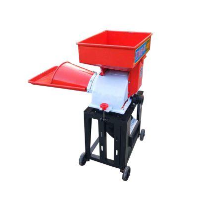 厂家供应秸秆铡草揉丝机 柴电两用铡草机 型号齐全