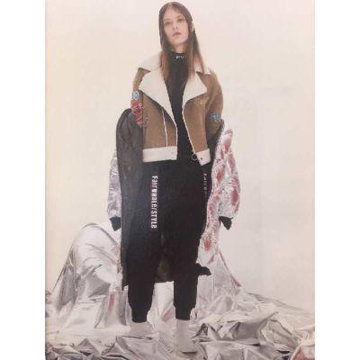 马克华菲女装折扣正品真丝连衣裙清仓特卖一线创意潮流品牌