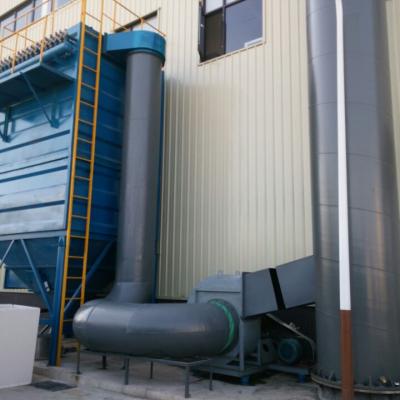 廊坊气体滤尘环保设备厂家-旋风布袋除尘设备
