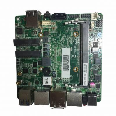 单个千兆网口6个USB直流输入工业设备主板