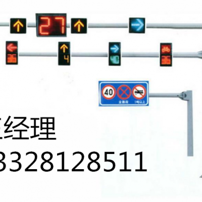 优质交通信号灯八角杆件生产厂家 悬臂长度决定灯杆直径厚度 江苏斯美尔光电科技有限公司