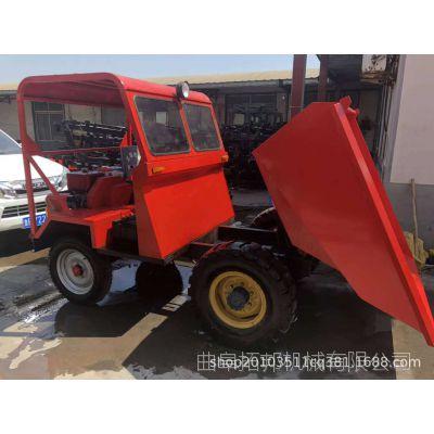 厂家生产前翻斗工程自卸车 15马力柴油翻斗车