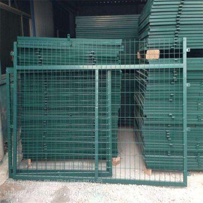 铁路防护栅栏-混凝土立柱防护栅栏-铁路通线防护栅栏