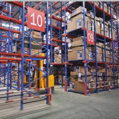 重庆固联贯通式仓储货架厂家生产