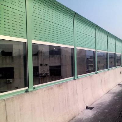 围墙声屏障材料@吸声吸音车间隔音板@公路消声屏型号
