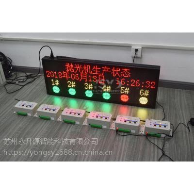 永升源壁挂式抛光机生产状态LED显示屏出厂价