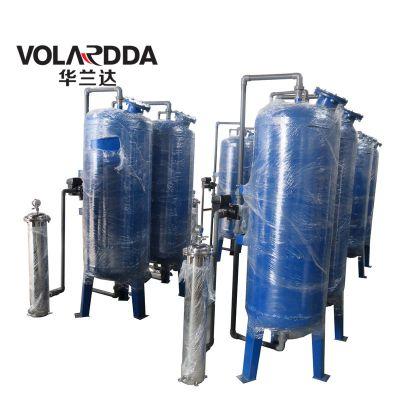 广西除铁锰设备 华兰达曝气除铁锰过滤装置 井水铁锰超标轻松解决