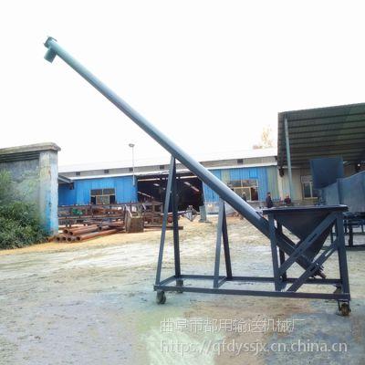 粉末料螺旋提升机 生产不锈钢提升机 石灰粉螺旋上料机qk