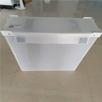 惠州正美钙塑板厂家 5mm透明钙塑板箱子 五金配件中空板周转箱