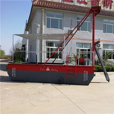 抽沙船-十寸泵射吸抽沙船多少钱-哪种抽沙船的工作效率高