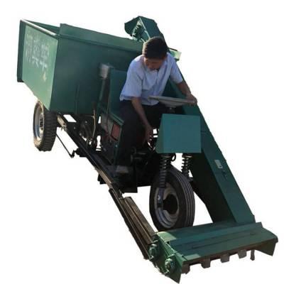 粪便刮起清粪机 牛粪自动清理车 自动装卸的大型清粪车