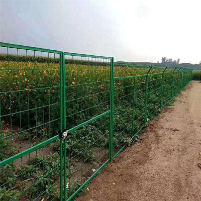 河南南阳供应高速公路边框护栏网 桥梁防抛网 浸塑铁丝围栏网