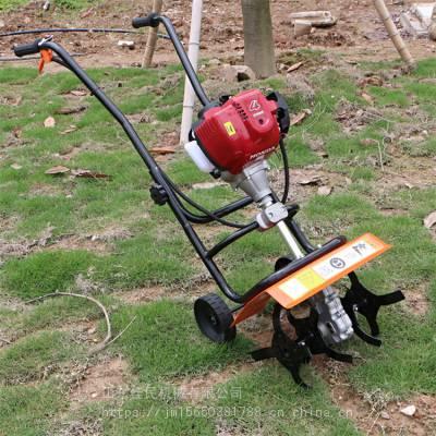 佳民 轻便小型手推除草机 大棚松土机 便携式除草锄地机