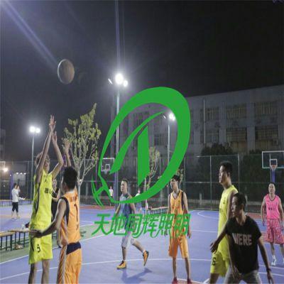 露天场地灯怎么布|室外篮球排球混合场地灯具布置方法|室外场地灯具上装怎么改造