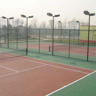 售体育场围栏 定制球场围网 勾花网球场围网 体育场隔离栅