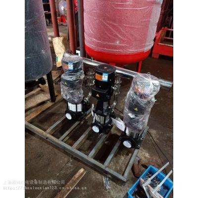 增压稳压消防泵,XBD7.5/15-80L(W),口径标准消火栓泵,自动系统巡检柜