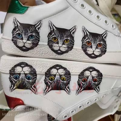 成品鞋打印机 皮革鞋子图案定制印花机 鞋子LOGO彩绘机
