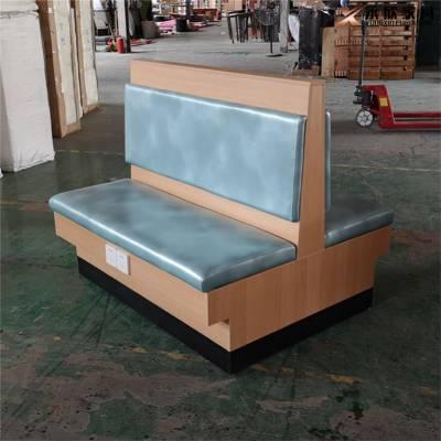 (可充电卡座)带充电插板的板式双面卡座沙发订做