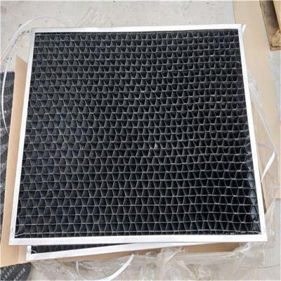 冷却塔PVC挡水板 带金属边框的网格 进风格栅 河北祥庆