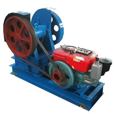 柏立松颚式破碎机 小型碎石设备入料口200*300 每小时能碎多少