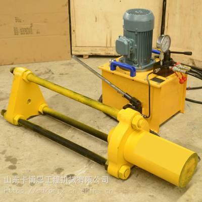 履带拆装机 手动链轨拆卸器 履带拆装工具履带拆销机