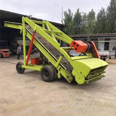 大产量青贮取料车型号 猪场草料取料机 润丰升降式取料车价钱