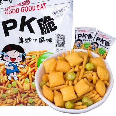 穗之杰味咪虾条全套设备马来西亚风味膨化食品生产线