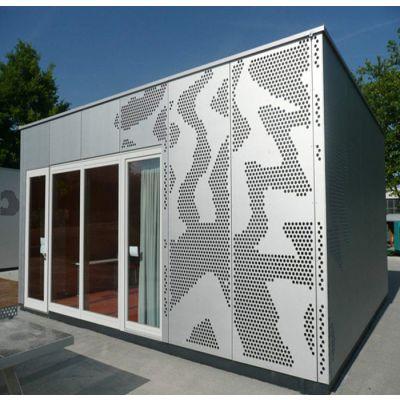 建筑幕墙铝板 雕花板 镂空铝单板
