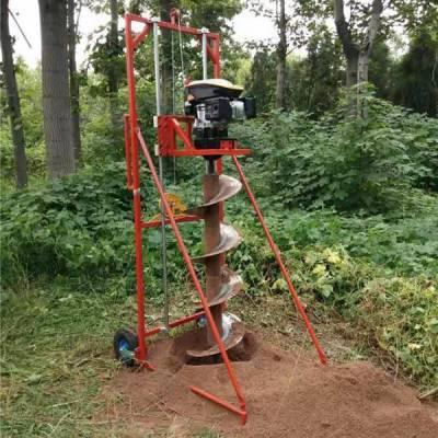 电力设施等打桩必用电线杆挖坑机