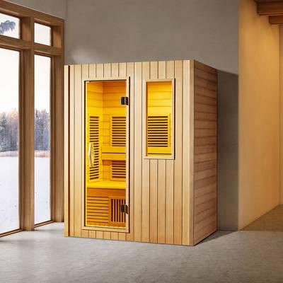 江苏南京奕华卫浴1.5米桑拿房单双人可移动汗蒸房能量屋远红外线光波房厂家直销