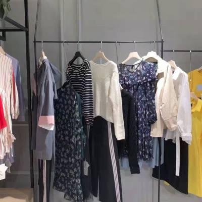 哈尔滨外贸服装批发 秋装新品双排扣中长款中少淑大码风衣外套 女装店加盟 品牌折扣女装分份