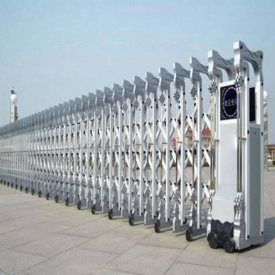 不锈钢电动伸缩门单价哪家专业 通化小区电动门 不锈钢电动门 南陵电动门SZ/帅展