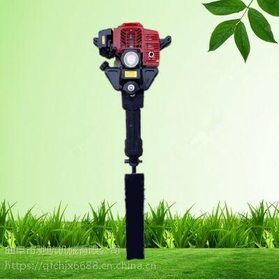 亚博国际真实吗机械 树木断根移苗机 手持式汽油起树机 铲式挖树移植机 园林挖树机