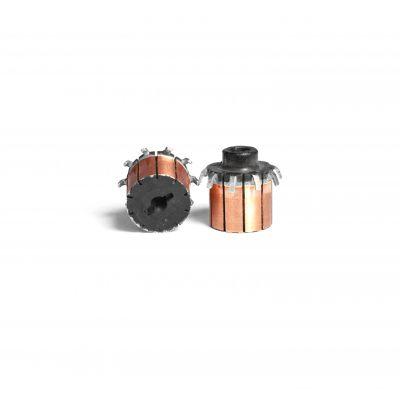 【批发供应】10P微型换向器 微电机配件全规格微型换向器