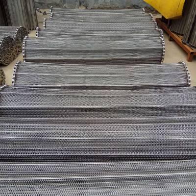厂家定做麻花油炸网带304不锈钢耐高温双旋网带卓远输送设备有限公司