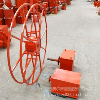 专业供应 弹簧电缆卷筒 截面面积16平方 装船机专用