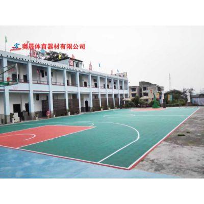 株洲幼儿园塑胶地面篮球场施工 天元学校锻炼篮球场地材料价格