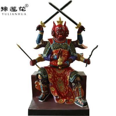 火德神君神像图片民间司火之神火德真君神像河南工艺品摆件雕塑