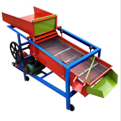 优质水稻 芝麻 菜籽 玉米 粮食电动不锈钢筛选机 震动筛 振动筛