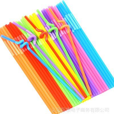 彩色吸管艺术幼儿园创意粘贴画吹画儿童创意手工diy编织制作材料