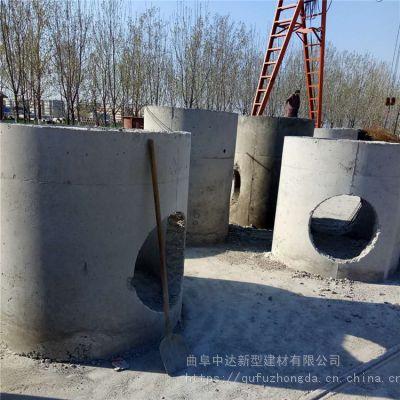 泰安中达厂家直销成品混凝土检查井/水泥预制道路管道